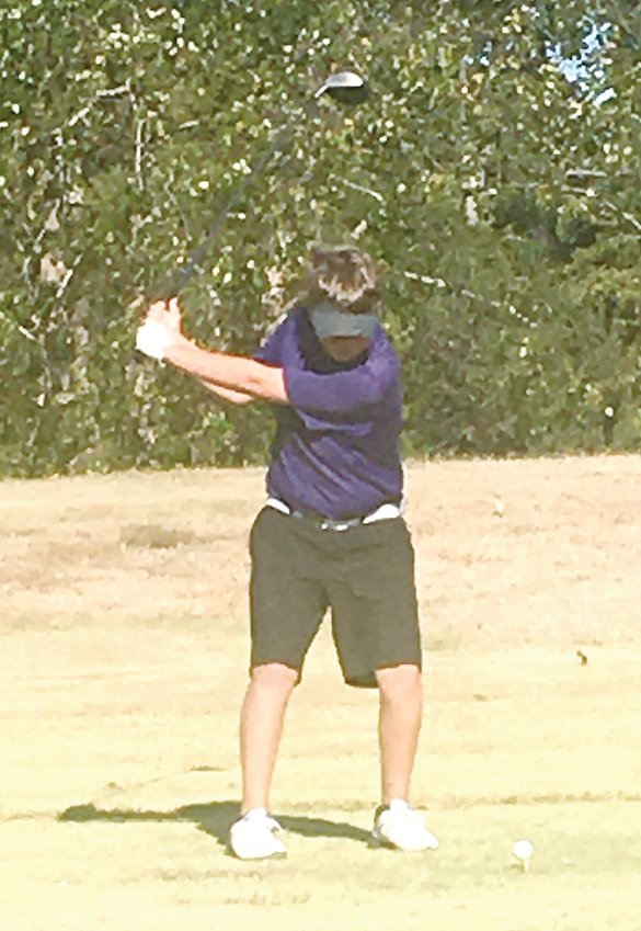 """Litchfield freshman Ian Otto got a taste of the """"big leagues"""" on Tuesday, Oct. 13, as he finished 79th at the Ziegler-Royalton Sectional at the Franklin County Country Club on Oct. 13."""