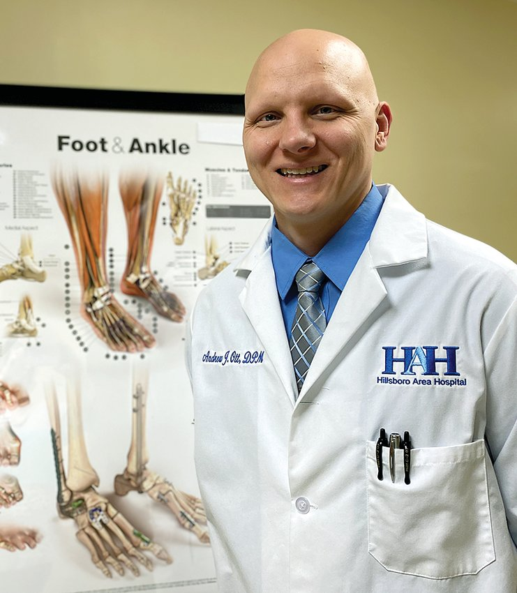 Dr. Andrew Ott, practicing at Hillsboro Specialty Clinic, is now a Certified Wound Specialist Physician