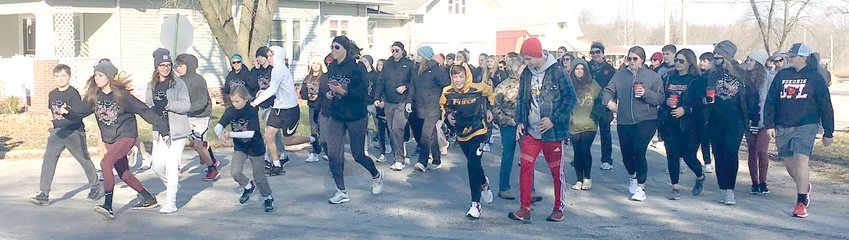 Good weather and a good cause meant that more than 100 participants were able to get outdoors for the third annual First Noelle 5K in Nokomis on Saturday, Dec. 5.