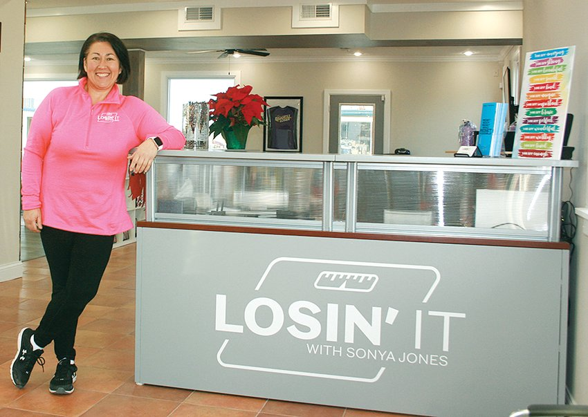 """Six years after taking second place as a contestant on NBC's """"The Biggest Loser"""" Sonya Jones (above) has taken on a new challenge, helping the people in her community reach their own weight loss goals. Losin' It with Sonya Jones officially opened on Saturday, Oct. 10, in Litchfield."""