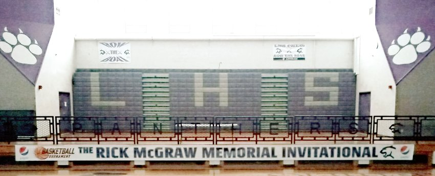 The 54th annual Rick McGraw Memorial Invitational may have been called off for 2021, but that didn't stop the Litchfield High School boys basketball coaches from hanging the tournament banner on Friday night. The 12-team tournament brings fans from all over the area and has become a staple for basketball fans throughout the area.