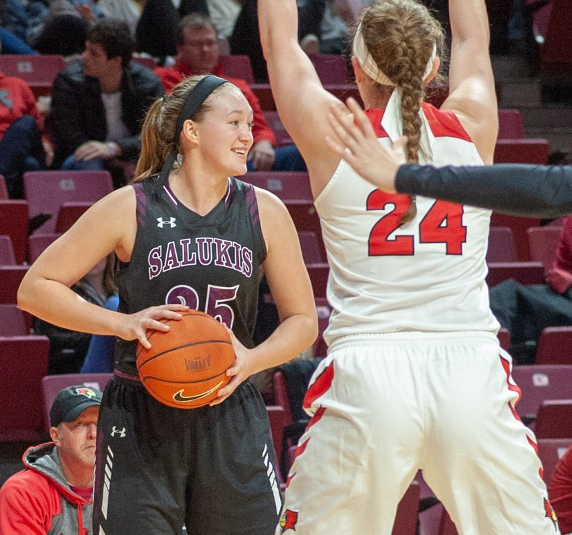 Lincolnwood grad and Litchfield's all-time leading scorer in girls basketball recently etched her name into the Southern Illinois University record books as well by becoming the 28th player to score 1,000 for the Carbondale-based school.