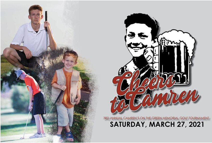 The late Camren Neisler would have been 21 years old on March 3, 2021. While the young man who passed away on Oct. 25, 2018, isn't able to celebrate his birthday, his friends and family are making sure that the celebration of his life continues with the third annual Camren's On The Green Memorial Golf Tournament on Saturday, March 27.