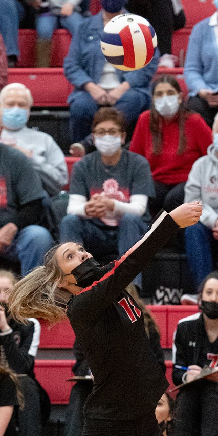 Nokomis senior Mia Fesser had five assists in the Redskins' win over Bunker Hill on March 23.
