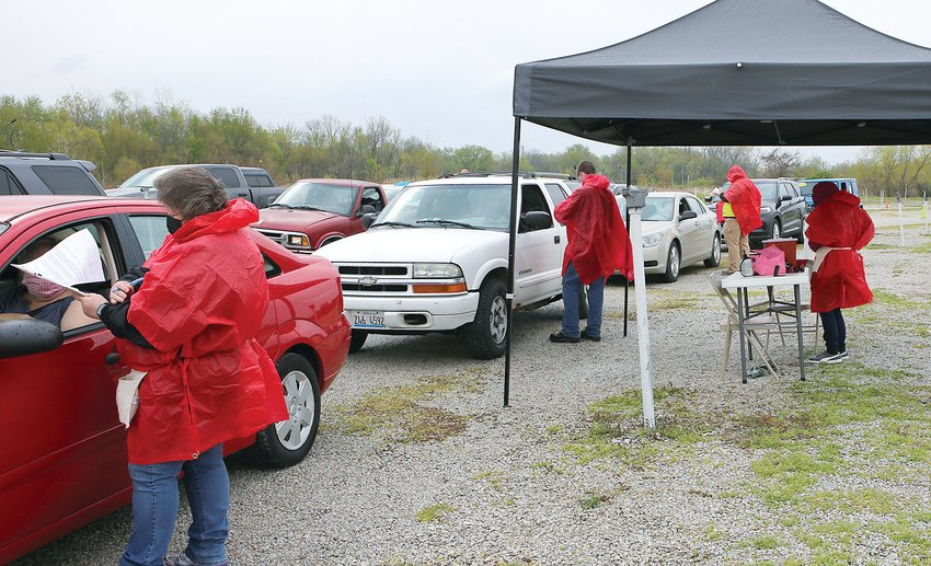 The Montgomery County Health Department hosted its second COVID-19 vaccination clinic at Skyview Drive-In in Litchfield on Saturday, open to anyone age 18 and above who pre-registered.
