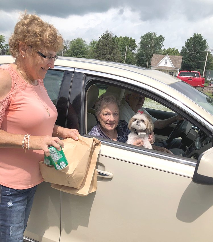 Farm Bureau had the pleasure of serving lunch to both two and four legged members in July. Lily the Shih Tzu enjoyed picking up lunch with her owners at Country Financial in Nokomis.