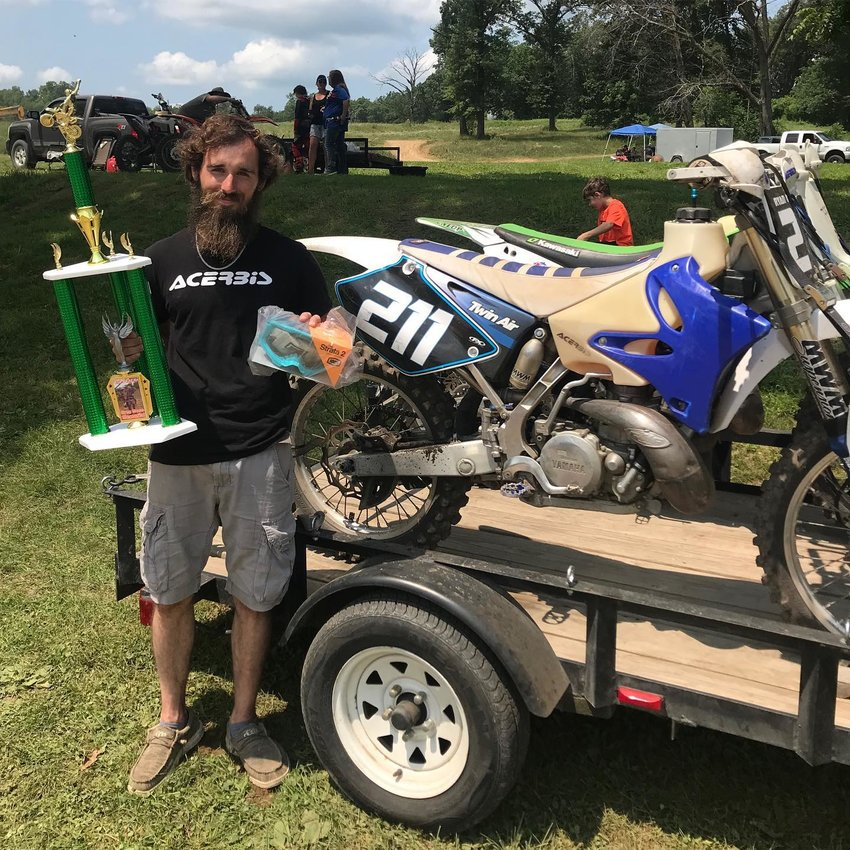 Litchfield racer Ryan Komor won his fourth WFO hare scramble of the year on Sunday, July 18, beating out 32 other riders to take the top spot in the 201-Open C class.