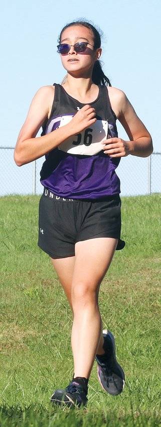 Litchfield's Myka Fenton earned the Panthers' first SCC cross country title since 2011 on Oct. 16, running a 20:23.