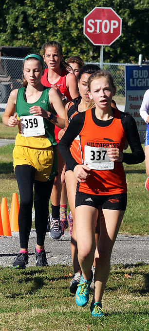 Hillsboro's Mady Rupert finished 11th overall to earn her second straight trip to sectionals at the Carlinville Regional on Saturday, Oct. 20.