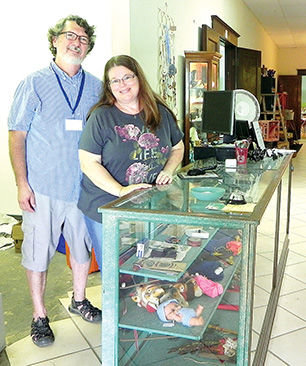The Litchfield Vintage Mall officially opened on June 4 by Ted and Janie Gausmann. The mall features over 40 vendors from all around the area.