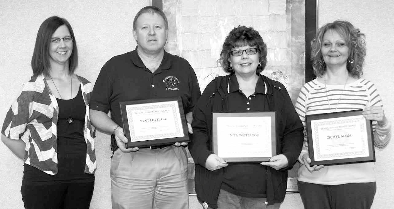 Probation Staff Receive Service Awards | The Journal-News