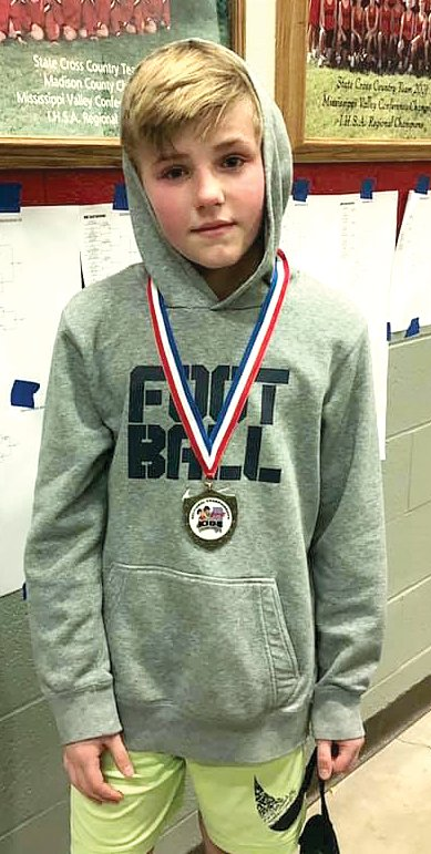 Hillsboro's Gunner Hefley advanced to the IKWF State Championships by virtue of his second place finish at the sectional tournament in Highland on March 2. Hefley will compete at the state tournament on March 7-9, at the BMO Harris Bank Center in Rockford.