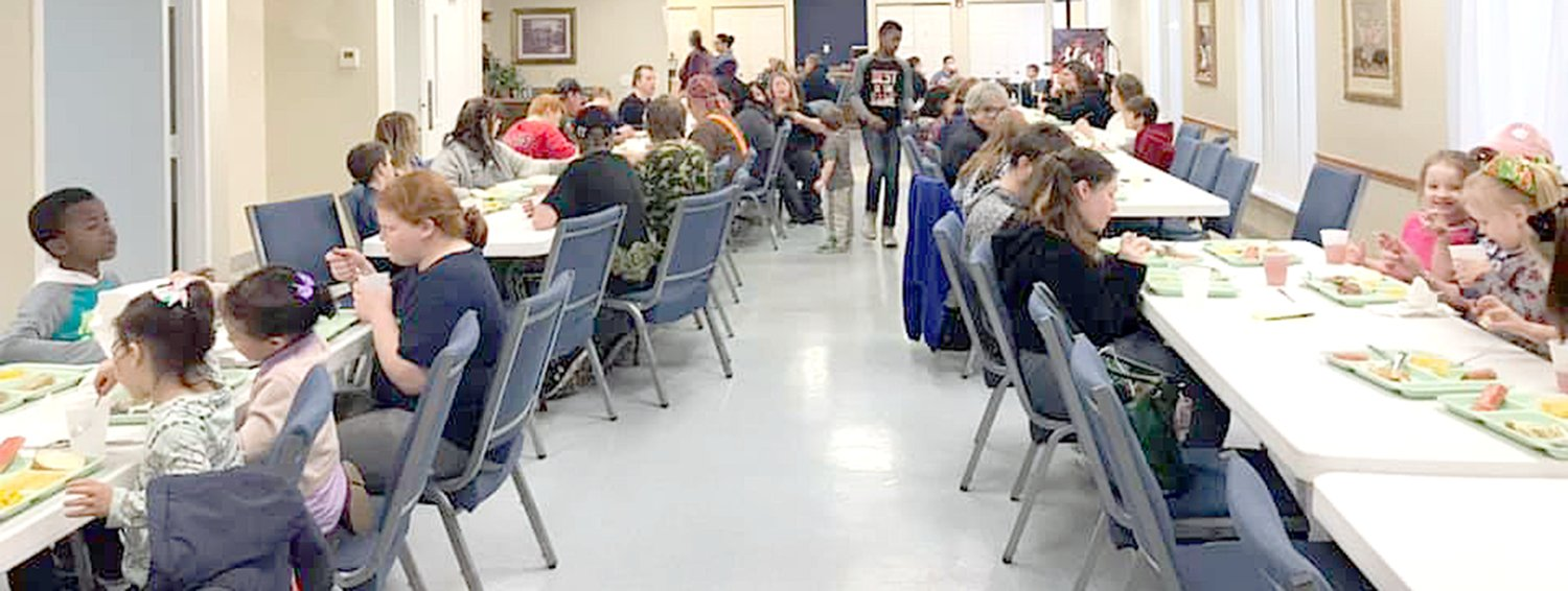 Latter Rain Ministries' Agape Community Meal serves between 85 to 100 residents of Litchfield each week. In addition to the free meal, the ministry holds biblically-based life classes for the adults and children in attendance.