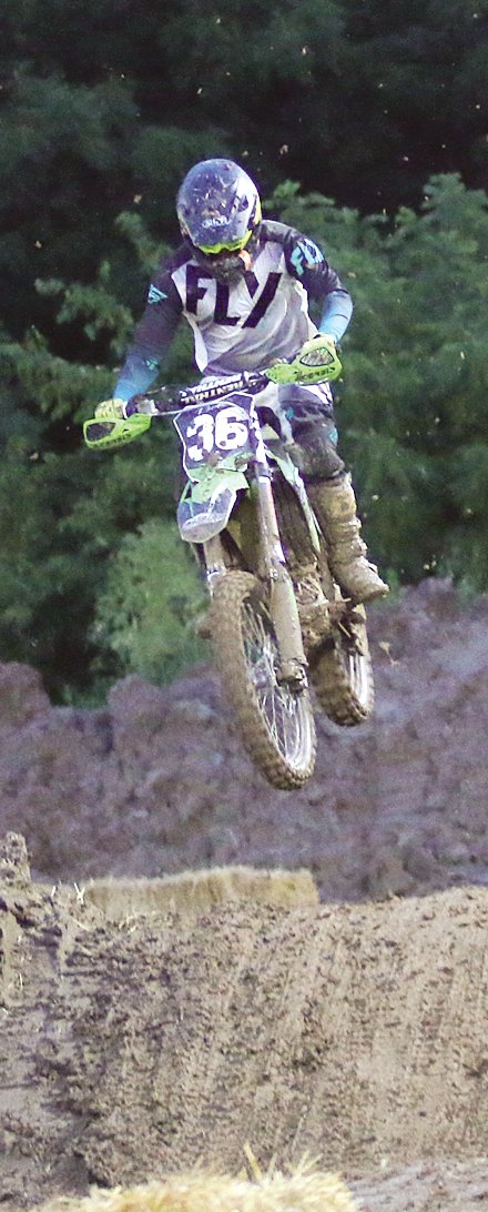 Fillmore racer Derek Bell won all four of his races in the 250 B/C and 450 B/C to earn the overall win in both classes.