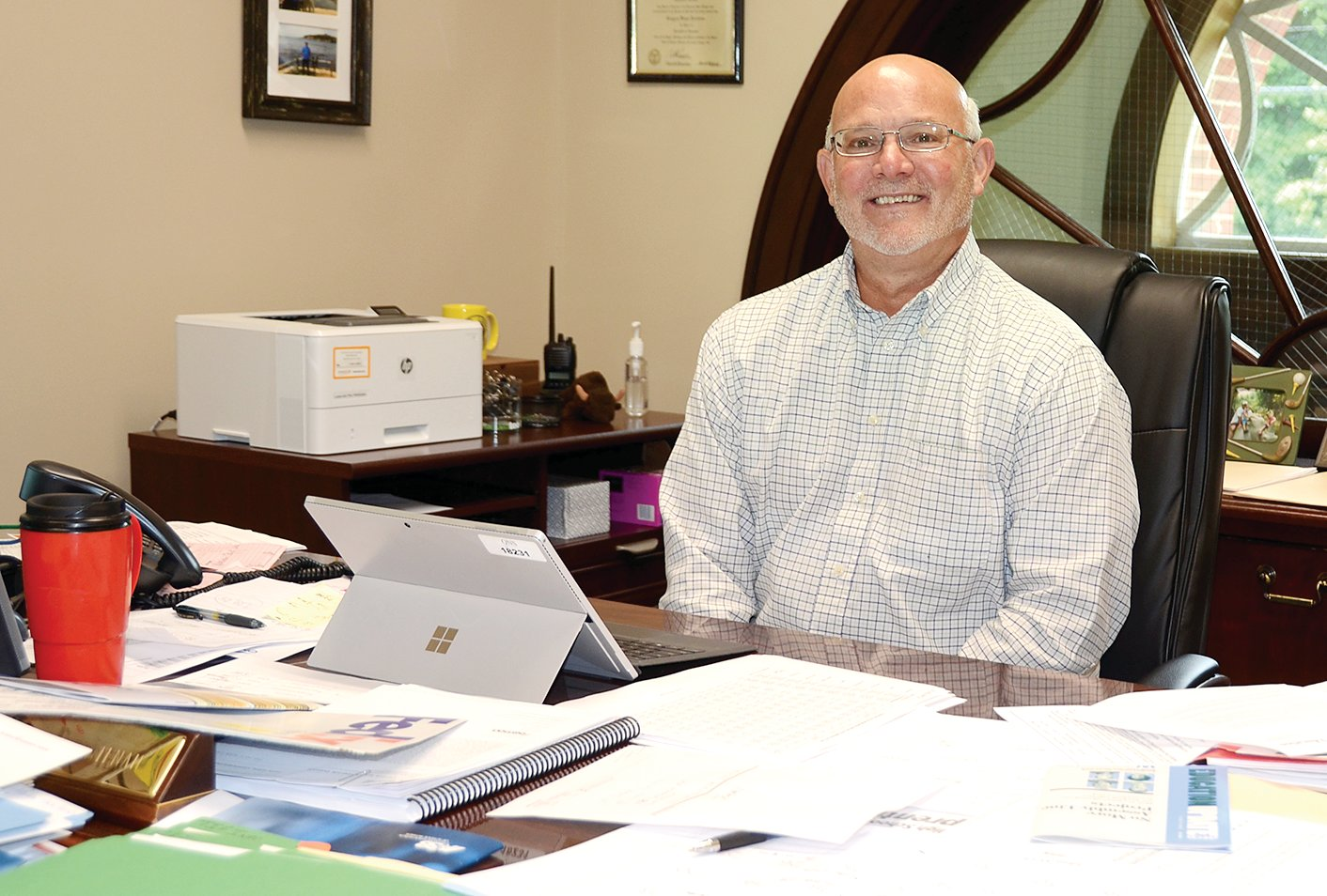 Dr. Greggory Fuerstenau of Taylorville started as the new superintendent of the Litchfield School District on Monday, July 1, as part of a three-year contract.