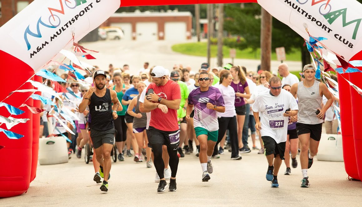 More than 500 runners and walkers, both in Hillsboro and virtually, took to the course in this year's A Grace-Filled Journey 5K Run and One-Mile Walk on Aug. 31.