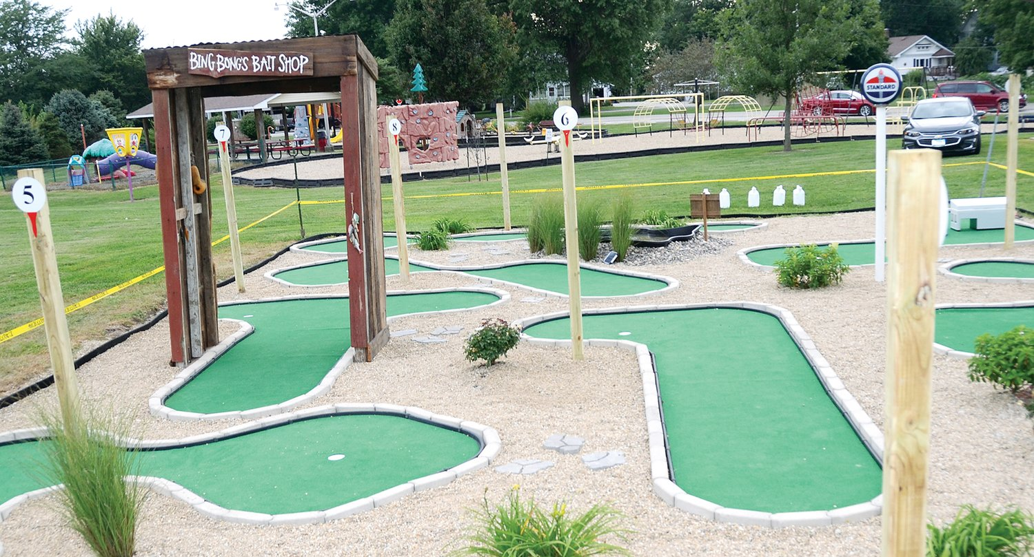 Camren's Mini Greens, a free, nine-hole miniature golf course at Shane Cole Park in Nokomis, will be officially unveiled this Sunday, Sept. 8, from noon to 4 p.m. The course is dedicated in memory of Nokomis graduate Camren Neisler.