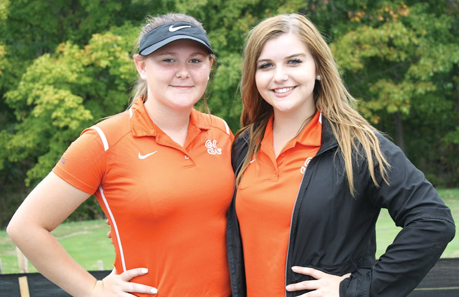 Hillsboro golfers Anna Colwell (left) and Erin Kistner (right) earned a spot in the sectional on Monday with their performances at the regional on Thursday, Oct. 10. Colwell shot a 121 to grab the final qualifying spot, while Kistner shot a 105 to finish sixth overall.