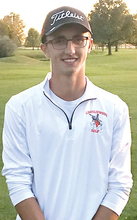 Lincolnwood senior Sam Herman shot an 83 at Rolling Greens Golf Course in Mt. Sterling on Monday, Oct. 14, to earn one of the last state qualifying spots for the Brown County Sectional.
