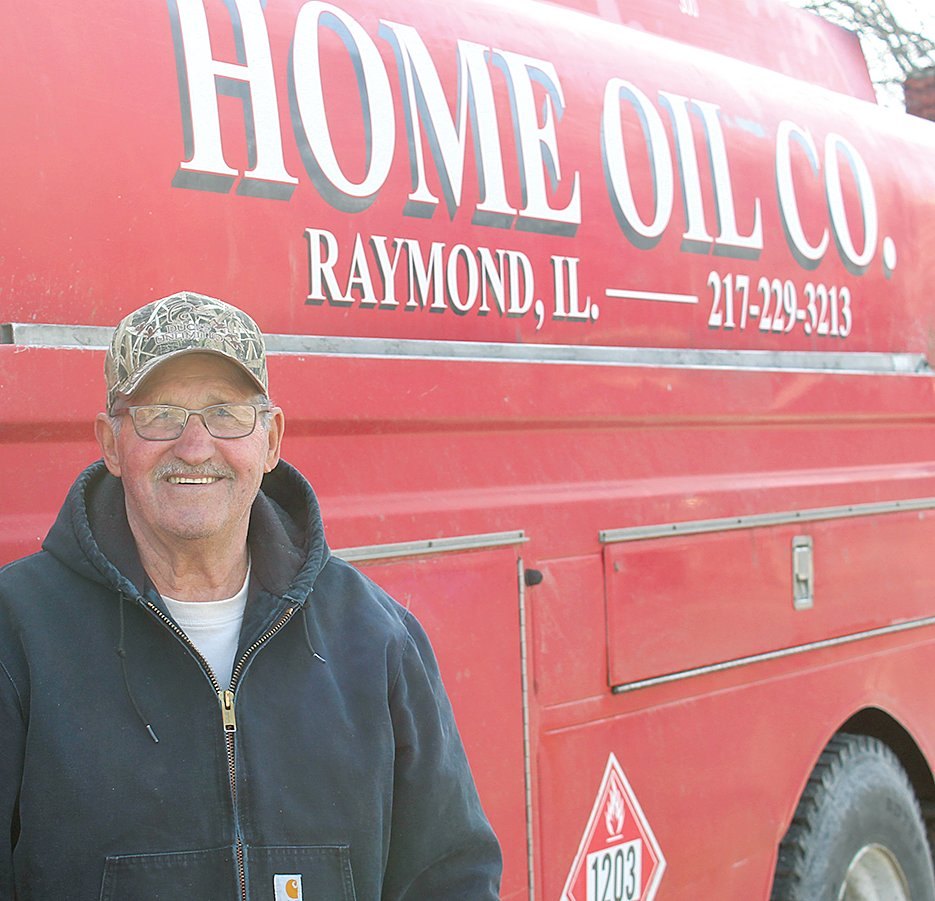 After 44 years of service to the fuel industry, John Herman of Raymond officially retired as a petroleum salesman from Home Oil Co. in Raymond.