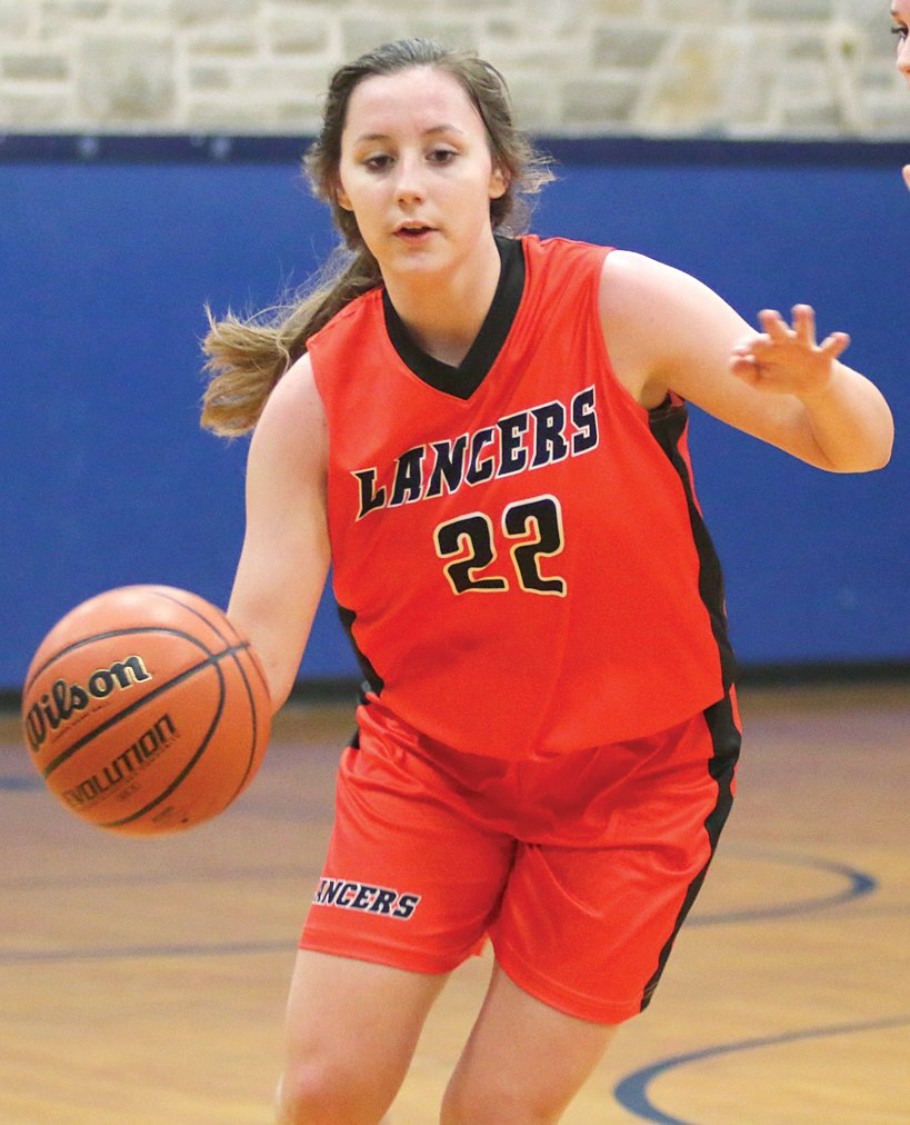 Lincolnwood junior Cassie Krager was an honorable mention selection for the MSM all-conference team. Krager was the leading scorer and rebounder for the Lady Lancers, who played their first season in their home colors since 1985.