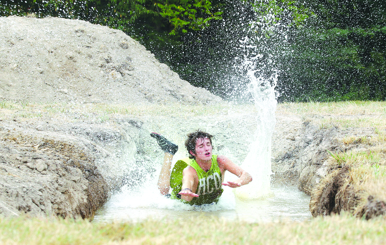Since it's inaugural run in 2012, the Big Dawg Dare 5K mud run has made quite the splash in Litchfield, drawing in more than 4,000 competitors wishing to test their abilities, as Austin Bushue of Effingham did eight years ago. With COVID-19 restrictions expected to last through the summer, the Big Dawg Dare board of directors were forced to cancel this year's race and opted to end the event after eight successful years.
