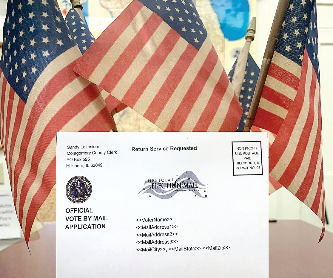 This election, a vote-by-mail application will come to all Montgomery County voters on or  before Aug. 1, according to Montgomery County Clerk Sandy Leitheiser.