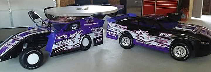 Jason Williamson's 3X Hillsboro Hustler RC cars were in action at the Ford County Shootout in Gibson City on Saturday, July 25, going up against 150 other entries. While Williamson was in Gibson City, other members of his family were racing at Macon Speedway with the Lynch Motorsports crew.