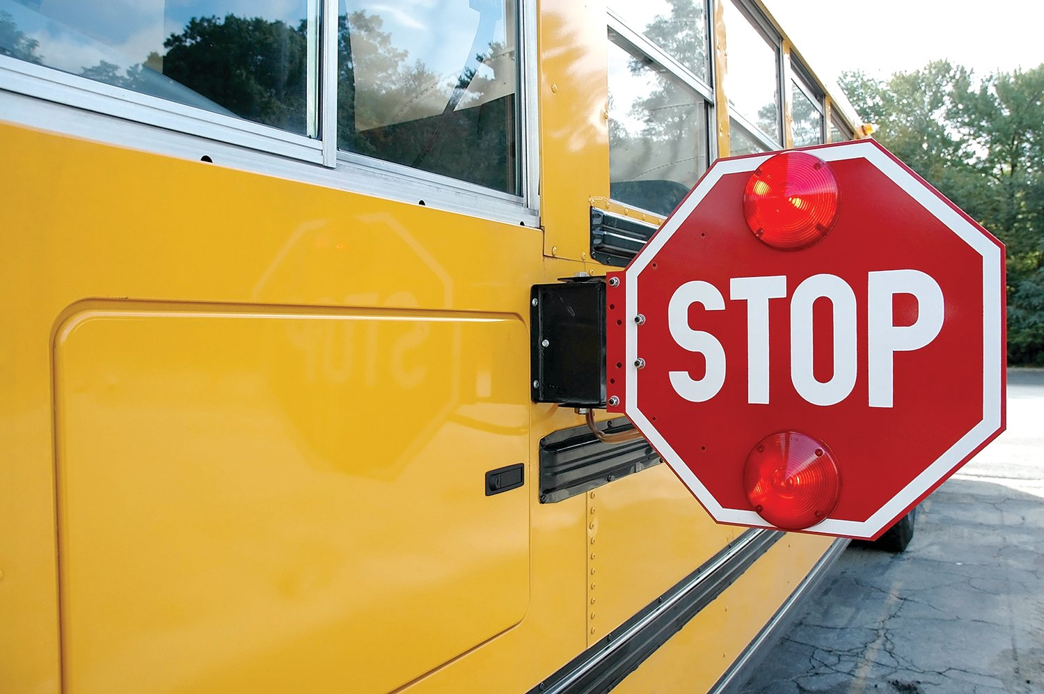 Don't forget about bus safety guidelines as students return to schools around the county next week.