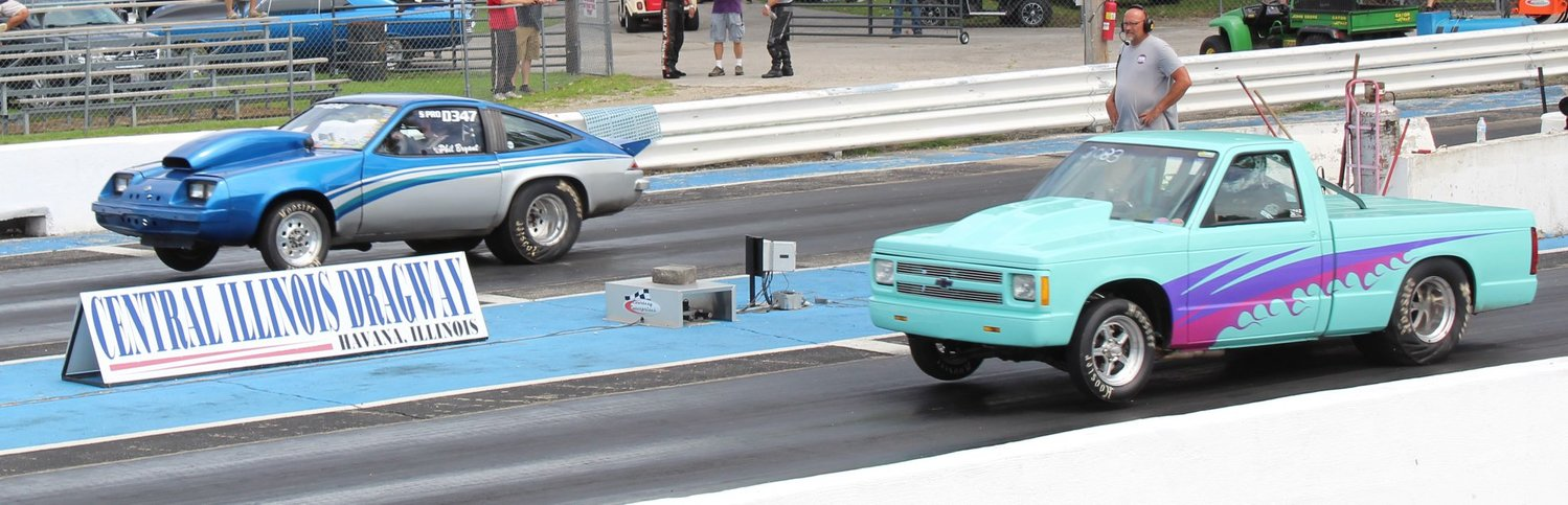 Dustin Bryant, shown here at Havana's Central Illinois Dragway, took second place in the pro class at Beacon Dragway in Paducha, KY, on Aug. 8.