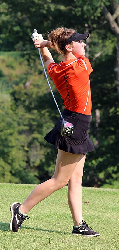 Hillsboro sophomore Alex Frailey was one of four HHS golfers to post season-best scores on Monday, Aug. 24.