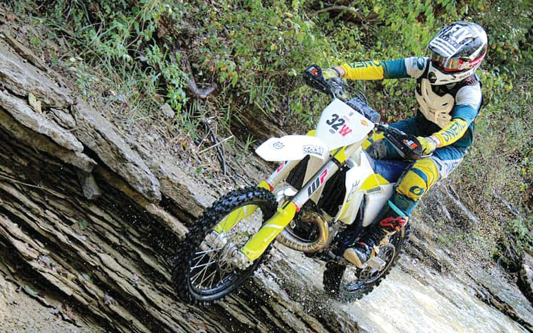 Jhadyn Walker ran second in the highly competitive A Open division at the National Enduro Championship Series Stop in Park Hills, MO, on Sept. 20, and 21st overall in the field of more than 400 riders.