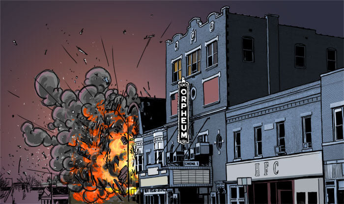 "The ""Stump"" graphic novel is set in Hillsboro and features several local landmarks, like the Orpheum Theatre downtown."