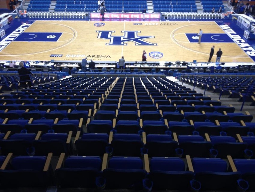 Rupp Arena was renamed in January and will now be known as Rupp Arena at Central Bank Center. (Keith Taylor/Kentucky Today)
