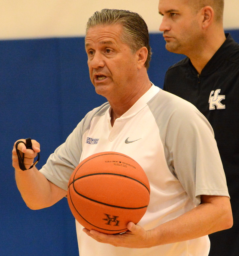 Kentucky coach John Calipari and the Wildcats will be touring the state for the next four weeks. (Kentucky Today/Keith Taylor)