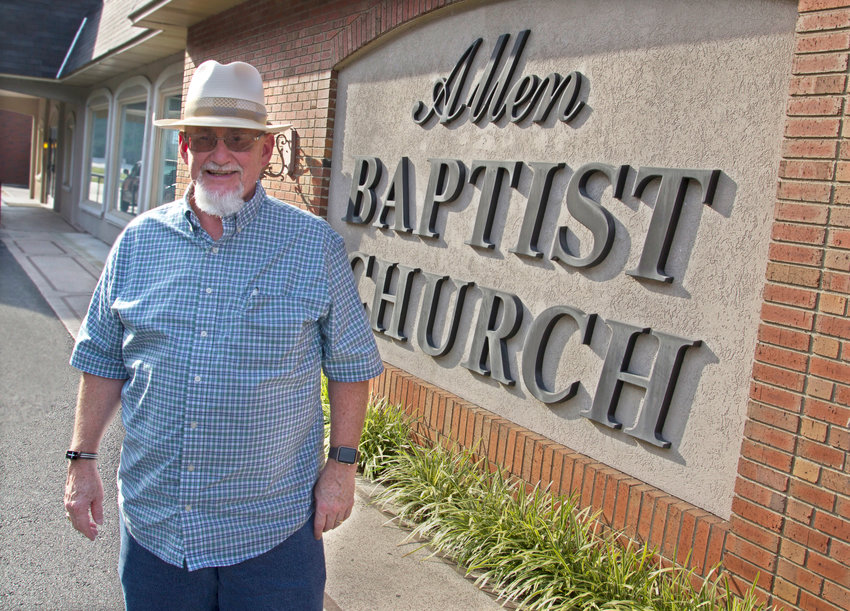 Tim Searcy, pastor of Allen Baptist Church, is one of two announced candidates for president of the Kentucky Baptist Convention. (Kentucky Today/Roger Alford)