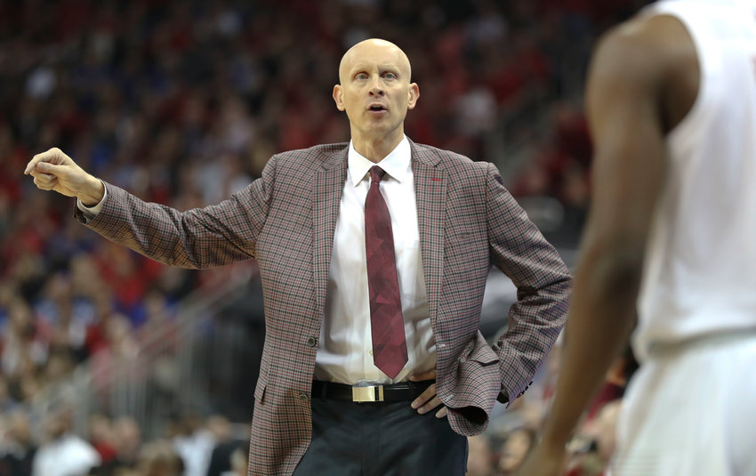 University of Louisville coach Chris Mack says the Cardinals' schedule should help in the NCAA tournament. (Kentucky Today/Robin Cornetet)