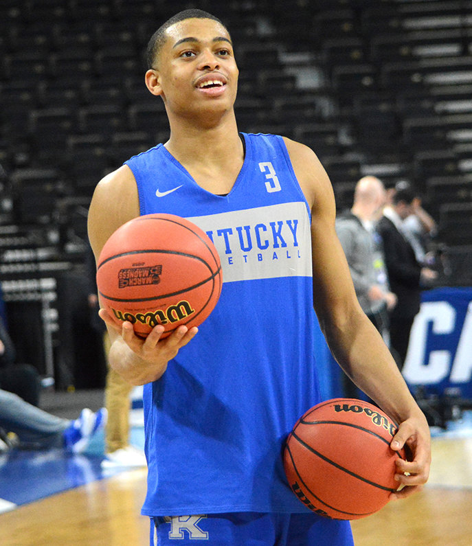 Keldon Johnson will be among 13 former Kentucky players who will compete in the NBA Summer League in Las Vegas that begins Friday. (Kentucky Today/Keith Taylor)