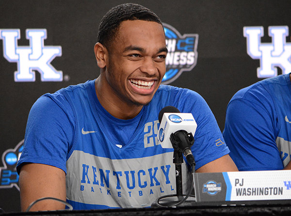 Kentucky's PJ Washington is expected to be one of the top picks in Thursday's NBA Draft in Brooklyn, New York. (Kentucky Today/Keith Taylor)