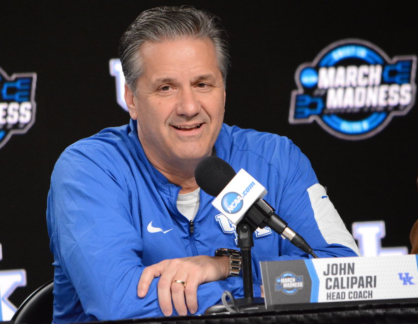 Kentucky coach John Calipari has recorded 31 victories in the NCAA Tournament during his tenure as coach of the Wildcats. (Keith Taylor/Kentucky Today)