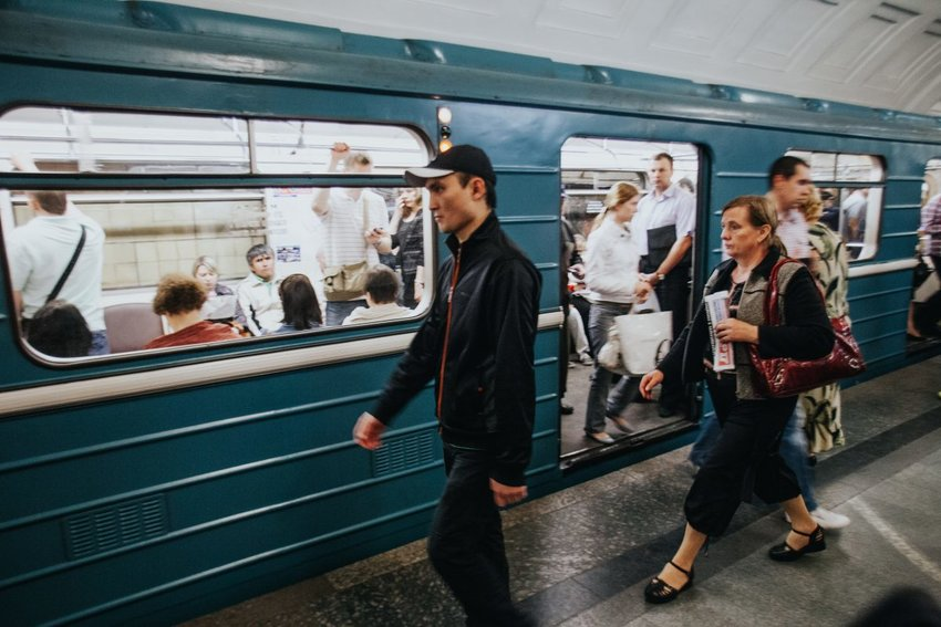 Underground metro stop along one of the Moscow Metro lines. (IMB photo)