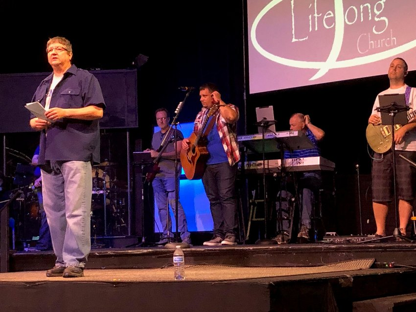 Keith Menshouse has been the senior pastor at LifeSong Church for 13 years and a pastor since 1982. LifeSong Church, located in Russell, Ky., will open a satellite church in Boyd County next month. Only 17 percent of Boyd County's population profess to be Christians. (Kentucky Today/Mark Maynard)