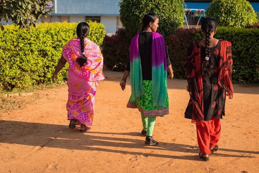 A neighborhood in South Asia is hearing the gospel due to the bold witness of local believers. Thanks to Southern Baptists' generous gifts, workers come alongside the national believers to help disciple new Christians in their faith.  (IMB Photo)