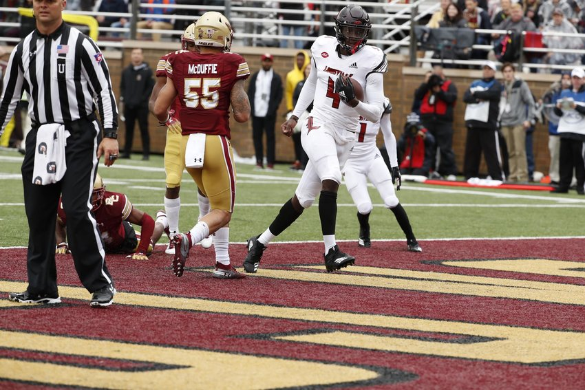 Jawon Pass wants Louisville to get back to having fun again - and that meets winning. He will start at quarterback Monday night when the Cardinals play Notre Dame in the season opener. (Louisville Athletics photo)
