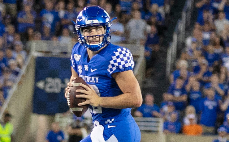 Sawyer Smith threw for a pair of touchdowns and rushed for one score in a loss to Florida last weekend. Smith is expected to make his second start against Mississippi State Saturday in Starkville. (Kentucky Today/Tammie Brown)