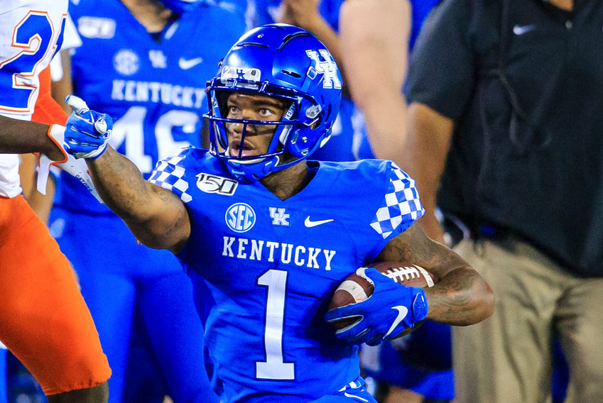 Lynn Bowden is coming off an impressive performance against Mississippi State last weekend and will lead the Wildcats in their contest at South Carolina Saturday. (Kentucky Today/Tammie Brown)