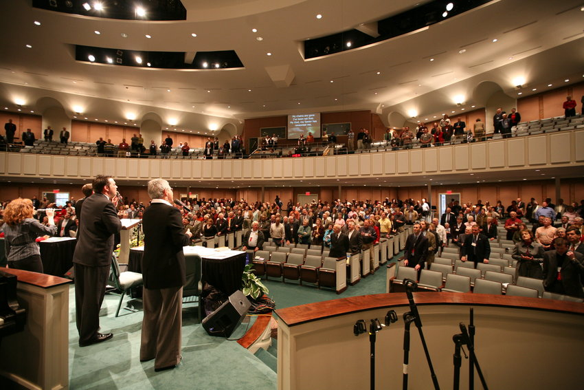 Kentucky Baptists will be gathering at Immanuel Baptist Church in Lexington on Tuesday for its annual meeting.(KT file photo)