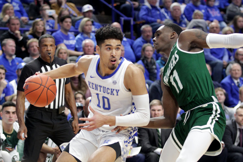 Johnny Juzang averaged 2.9 points per game last season and will continue his collegiate career at UCLA. (Kentucky Today/Tammie Brown)