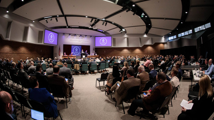 The SBC Executive Committee voted Tuesday (Feb. 18) to form a seven-member task force to address some Southern Baptists' concerns about actions taken by the SBC's Ethics & Religious Liberty Commission. Photo by Eric Brown
