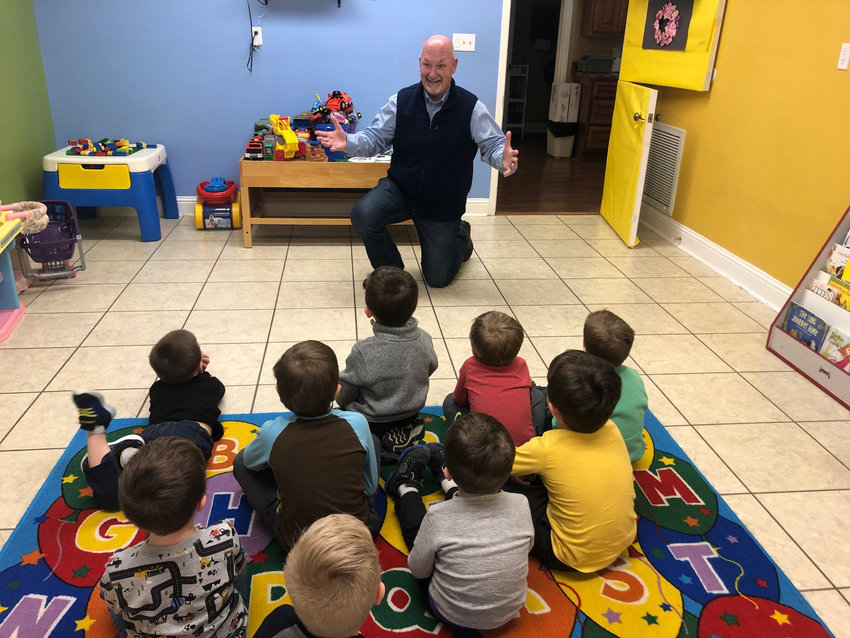 Pastor Rob Ison's involvement in the community and the early learning center at Reidland Baptist Church is part of an evangelistic strategy that has turned around the church. (Submitted photo)
